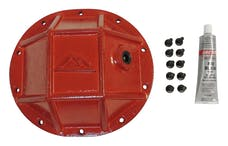 """RT Offroad RT20027 HD Differential Cover, Rear, Red, Chrysler 8.25"""", 3/8"""" Thick Forged Steel"""
