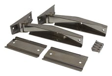 RT Offroad RT34065 Stainless Tailgate Hinge Set, Upper & Lower