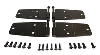 RT Offroad RT34093 Black Stainless Steel Door Hinge Set for Select Jeep CJ-7, CJ-8, YJ Wrangler