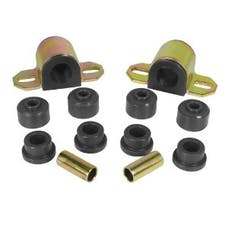 Rugged Ridge 1-1117BL Front Swaybar Bushing Kit; Black; 1-1/8 Inches; 84-01 Jeep Cherokee XJ