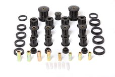 Rugged Ridge 1-2004BL Polyurethane Bushing Kit; Black; 84-01 Jeep Cherokee XJ