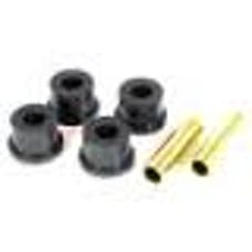 Rugged Ridge 1-804BL Shackle Bushing Kit; Black; 84-99 Jeep Cherokee XJ