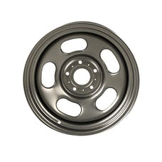 Rugged Ridge 15500.77 Steel Wheel Hub,  Gun-metal, 17x9