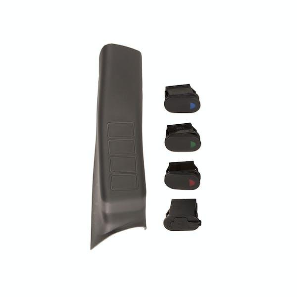 Rugged Ridge 17235.94 A-Pillar Pod Kit, 3 Switch, USB, Right