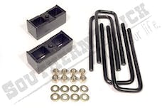 Southern Truck 15030 2-inch Rear Block Kit with U-Bolts