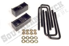 Southern Truck 15031 3-inch Rear Block Kit with U-Bolts