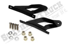 Southern Truck 65102 50-inch Curved LED Light Bar Upper Windshield Mounting Brackets