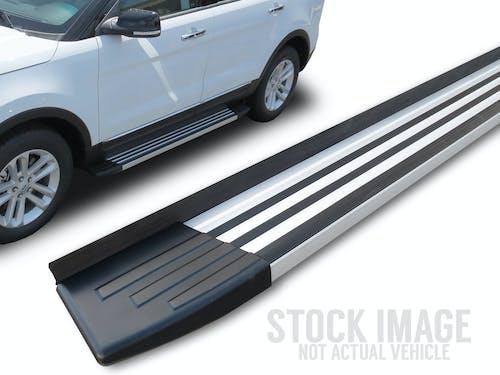 Steelcraft 200-23200 STX200 Running Boards, Aluminum