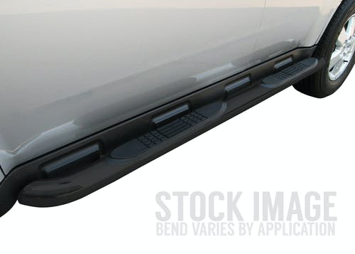 "Steelcraft 201200 3"" Round Sidebars, Black"