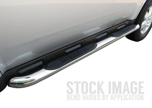 "Steelcraft 201207 3"" Round Sidebars, S/S"