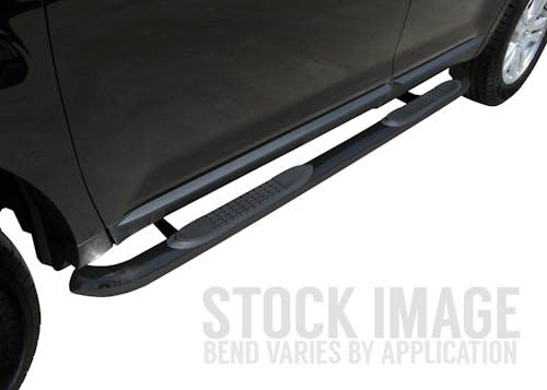"Steelcraft 221120 3"" Round Sidebars, Black"