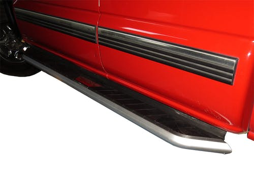 Steelcraft 300-02120 STX300 Running Boards Aluminum