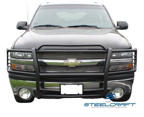 Steelcraft 50020 Grille Guard, Black