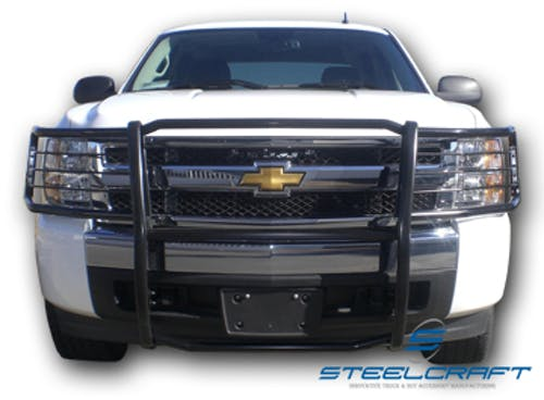 Steelcraft 50320 Grille Guard, Black