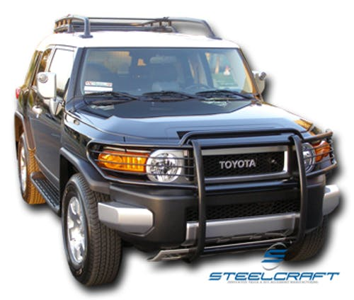 Steelcraft 53300 Grille Guard, Black