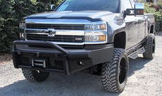 Steelcraft 55-10440 HD Bullnose Front Bumper, Black