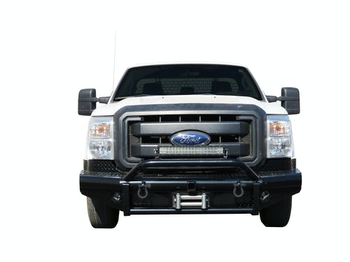 Steelcraft 55-11370 HD Bullnose Front Bumper, Black