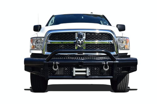Steelcraft 55-12260 HD Bullnose Front Bumper, Black