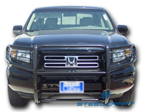 Steelcraft 55070 Grille Guard, Black