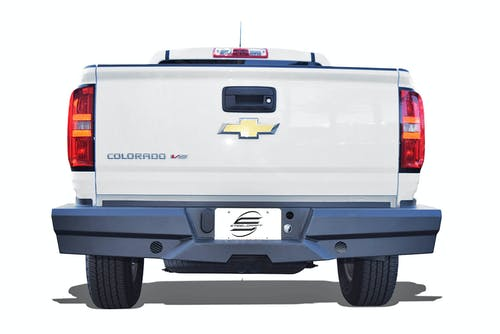 Steelcraft 65-20450 Elevation Rear Bumper, Fine Textured Black