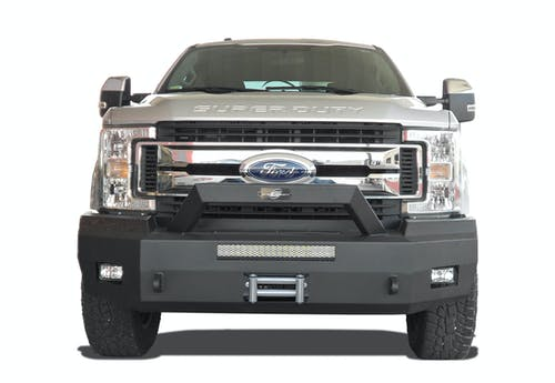 Steelcraft 70-11380 Elevation Bullnose Front Bumper, Textured Black