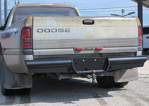 Steelcraft HD22200 HD Rear Bumper Replacements, Black