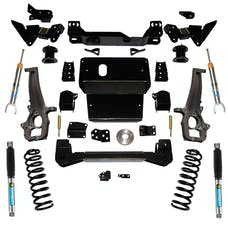 Superlift K119B 4 inch Lift Kit with Bilstein Front Struts and Rear Shocks