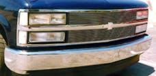 T-Rex Grilles 20030 Billet Grille, Polished, Aluminum, 2 Pc, Insert