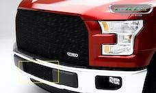 T-Rex Grilles 25573B Billet Bumper Grille, Black, Aluminum, 1 Pc, Insert