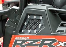 T-Rex Grilles 6749001 X-Metal Side Vent, Black, Mild Steel, 2 Pc, Replacement