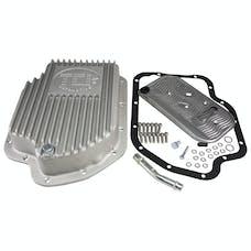 TCI Automotive 228000 GM TH400 Cast Aluminum Deep Pan (2 Extra Quarts).