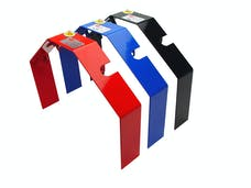 TCI Automotive 940002 Black Powder-Coated Flexplate Safety Shield for Chevrolet.