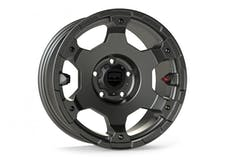 Teraflex 1056150 17 Inch Nomad Off Road Wheel 5x5 Bolt Pattern Titanium Gray Base Ea