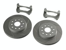 Teraflex 4303490 JK Front Performance Big Slotted Rotor Kit