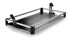 Teraflex 4820000 JKU 4-Door Wasatch Rear Cargo Rack - Silver Rails
