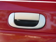 TFP 430BR Tailgate Handle Insert 2 Piece Kit. Stainless Steel Brushed Finish