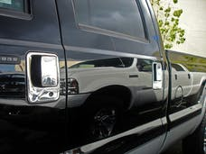 TFP 441KE Truck & SUV Door Handle Insert Stainless Steel Chrome Finish