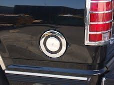 TFP 801 Fuel Door Insert Plastic Chromed Finish