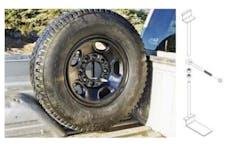 Titan Fuel Tanks 99 0133 0000 Spare Tire mount Kit