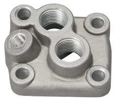 Trans Dapt Performance 1015 Bolt-on Oil Filter Bypass Adapter- 1957 (or Later) Ford 332,352,390,406,428 V8s