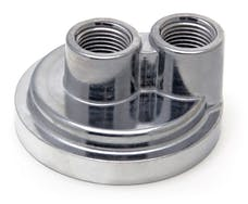 """Trans Dapt Performance 1020 Spin-on Oil Filter Bypass; 2-1/2"""" ID; 2 3/4"""" OD Flange w/ 13/16""""-16 Threads"""