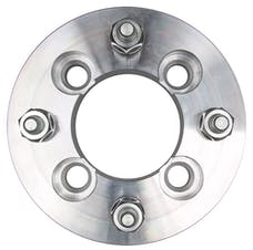 "Trans Dapt Performance 3601 4 LUG Wheel Adapters;4.5"" WHEEL Dia;100mm HUB Dia;12mmx1.5 Thread (pr)- ALUMINUM"