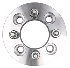 "Trans Dapt Performance 3602 4 LUG Wheel Adapters;100mm WHEEL Dia;4.25"" HUB Dia;12mmx1.5 Thread (pr)-ALUMINUM"