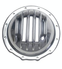 Trans Dapt Performance 4828 JEEP Corporate (12 Bolt) REAR; Polished Aluminum Differential Cover Kit