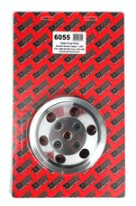 Trans Dapt Performance 6055 WATER PUMP Pulley; 2 Groove; 69-85 CHEVROLET 283-350; LONG W/P- Pol. ALUMINUM