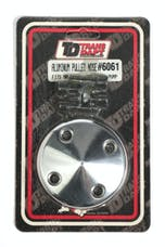 Trans Dapt Performance 6061 WATER PUMP Pulley NOSE; Groove; 69-85 CHEVROLET 283-350; LONG W/P- Pol. ALUMINUM