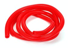 "Trans Dapt Performance 7586 RED Wire Harness; Convoluted; 1/2"" Diameter- (7 ft)"