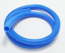"Trans Dapt Performance 7595 BLUE Wire Harness; Convoluted; 3/4"" Diameter- (5 ft)"