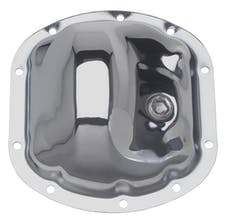 Trans Dapt Performance 9036 DANA 25-27-30 (10 Bolt), Complete Chrome Differential Cover Kit