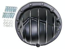 "Trans Dapt Performance 9944 Chevy/GM Interm. 12-Bolt; 8-7/8"" Gear; Aluminum Diff Cover-Black w/Polished Fins"
